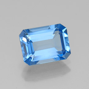 Buy 1.93 ct Swiss Blue Topaz 8.19 mm x 6.1 mm from GemSelect (Product ID: 315836)