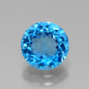 Buy 2.34 ct Swiss Blue Topaz 8.04 mm  from GemSelect (Product ID: 315974)