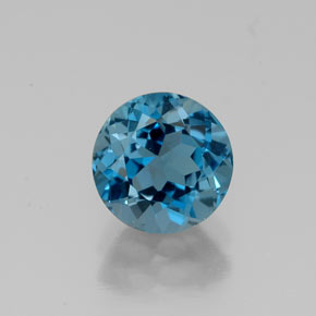 Buy 1.73ct London Blue Topaz 7.14mm  from GemSelect (Product ID: 316224)
