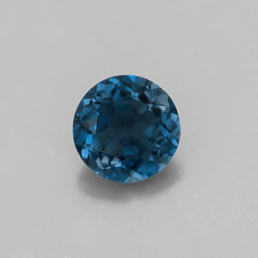 Buy 0.93ct London Blue Topaz 5.99mm  from GemSelect (Product ID: 316573)