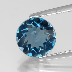 Buy 2.12 ct London Blue Topaz 8.14 mm  from GemSelect (Product ID: 318791)