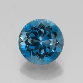 Buy 2.50 ct London Blue Topaz 8.24 mm  from GemSelect (Product ID: 318793)