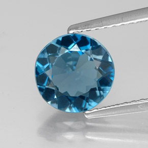 Buy 1.90 ct London Blue Topaz 7.97 mm  from GemSelect (Product ID: 318904)
