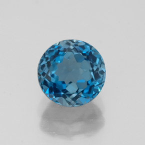 Buy 2.00 ct London Blue Topaz 7.00 mm  from GemSelect (Product ID: 318954)