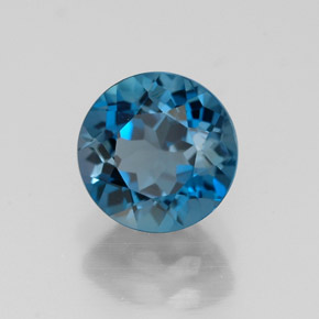Buy 1.78 ct London Blue Topaz 6.96 mm  from GemSelect (Product ID: 318961)