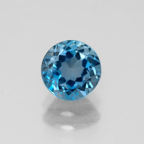 Buy 1.06ct London Blue Topaz 5.93mm  from GemSelect (Product ID: 318984)
