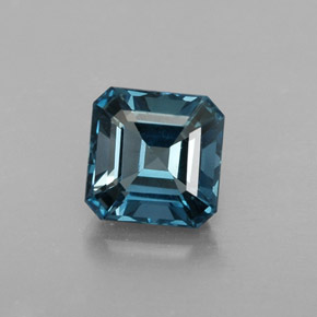 Buy 1.51 ct London Blue Topaz 6.21 mm x 6.2 mm from GemSelect (Product ID: 319967)