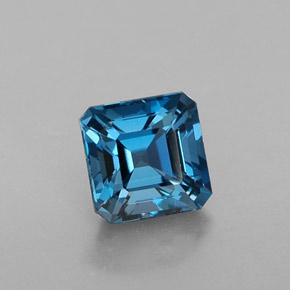 Buy 1.60ct London Blue Topaz 6.13mm x 6.09mm from GemSelect (Product ID: 319968)