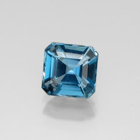Buy 1.43ct London Blue Topaz 6.28mm x 6.17mm from GemSelect (Product ID: 320077)
