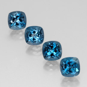 Buy 5.07ct London Blue Topaz 6.16mm x 6.13mm from GemSelect (Product ID: 320089)