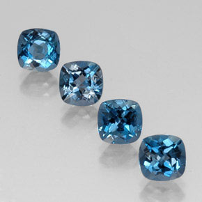 Buy 5.15 ct London Blue Topaz 6.15 mm x 6.1 mm from GemSelect (Product ID: 320092)