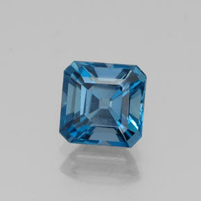 Buy 1.43 ct London Blue Topaz 6.22 mm x 6.2 mm from GemSelect (Product ID: 320270)