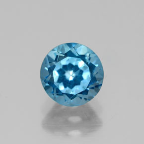 Buy 1.12 ct London Blue Topaz 6.06 mm  from GemSelect (Product ID: 320552)