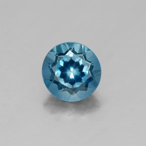 1.06 ct Natural London Blue Topaz