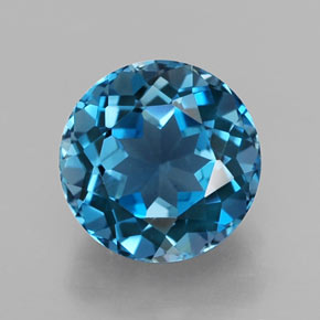 Buy 2.86 ct London Blue Topaz 8.05 mm  from GemSelect (Product ID: 320791)