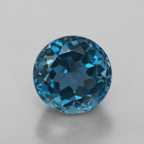 Buy 2.75ct London Blue Topaz 8.00mm  from GemSelect (Product ID: 320798)