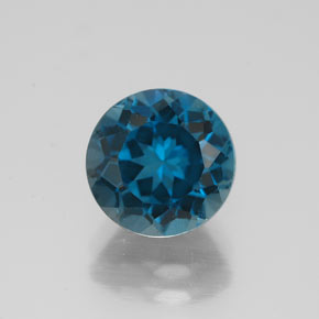 Buy 2.72ct London Blue Topaz 7.98mm  from GemSelect (Product ID: 320804)