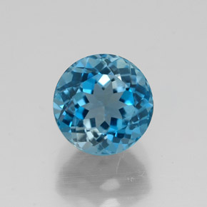 Buy 2.20 ct London Blue Topaz 7.15 mm  from GemSelect (Product ID: 320829)