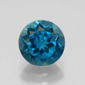 Buy 1.56 ct London Blue Topaz 6.89 mm  from GemSelect (Product ID: 320836)