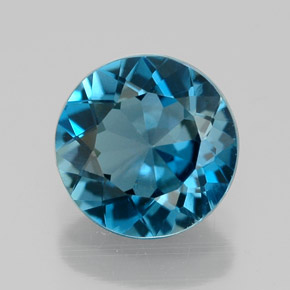 Buy 2.04 ct London Blue Topaz 8.01 mm  from GemSelect (Product ID: 320837)