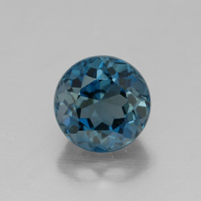 Buy 2.10 ct London Blue Topaz 7.11 mm  from GemSelect (Product ID: 320844)