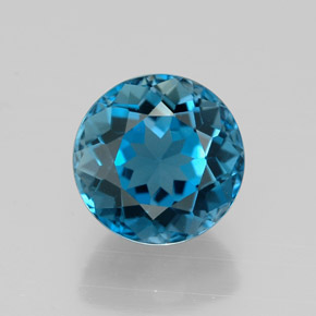 Buy 2.65 ct London Blue Topaz 8.06 mm  from GemSelect (Product ID: 320853)