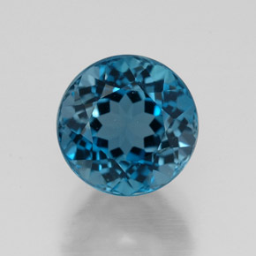 2.99 ct Natural London Blue Topaz