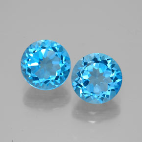Buy 3.37 ct Swiss Blue Topaz 7.04 mm  from GemSelect (Product ID: 320945)