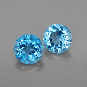 Buy 3.25 ct Swiss Blue Topaz 7.00 mm  from GemSelect (Product ID: 321127)