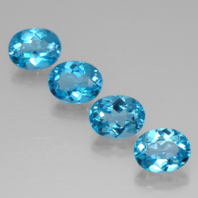 Buy 9.28 ct Swiss Blue Topaz 9.05 mm x 7.1 mm from GemSelect (Product ID: 321503)