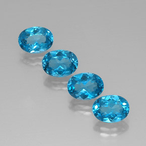Buy 6.70ct Swiss Blue Topaz 8.06mm x 6.01mm from GemSelect (Product ID: 321511)