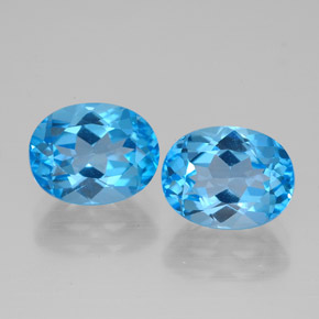 Buy 5.23 ct Swiss Blue Topaz 9.03 mm x 7.1 mm from GemSelect (Product ID: 321540)