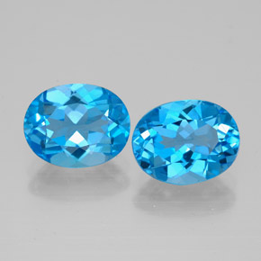 Buy 5.01ct Swiss Blue Topaz 9.07mm x 7.09mm from GemSelect (Product ID: 321543)