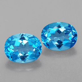 Buy 4.93 ct Swiss Blue Topaz 9.18 mm x 7.3 mm from GemSelect (Product ID: 321566)
