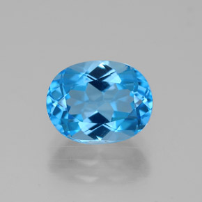 Buy 2.71 ct Swiss Blue Topaz 9.12 mm x 7.1 mm from GemSelect (Product ID: 321594)