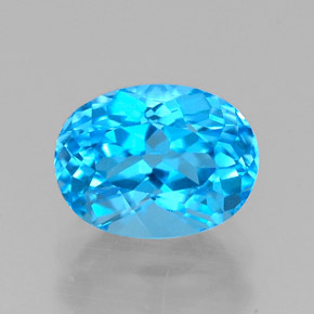 Buy 1.95 ct Swiss Blue Topaz 8.07 mm x 6.1 mm from GemSelect (Product ID: 321628)