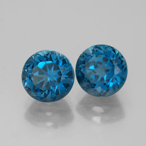 Buy 3.81ct London Blue Topaz 7.04mm  from GemSelect (Product ID: 321950)