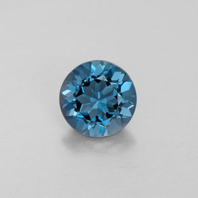 Buy 1.45 ct London Blue Topaz 6.90 mm  from GemSelect (Product ID: 322072)