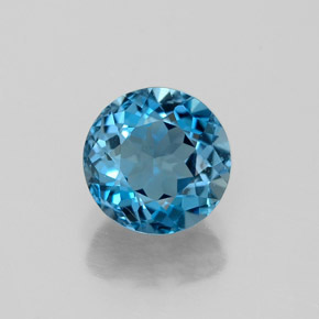 Buy 1.53ct London Blue Topaz 6.97mm  from GemSelect (Product ID: 322282)