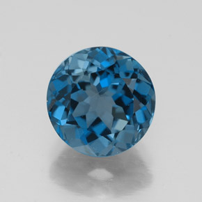 Buy 2.68 ct London Blue Topaz 8.07 mm  from GemSelect (Product ID: 322312)