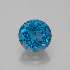 Buy 2.63 ct London Blue Topaz 8.12 mm  from GemSelect (Product ID: 322642)