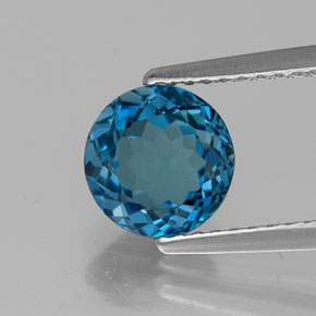 Buy 1.71 ct London Blue Topaz 7.10 mm  from GemSelect (Product ID: 322646)
