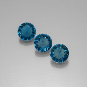 Buy 6.15ct London Blue Topaz 8.14mm  from GemSelect (Product ID: 322650)