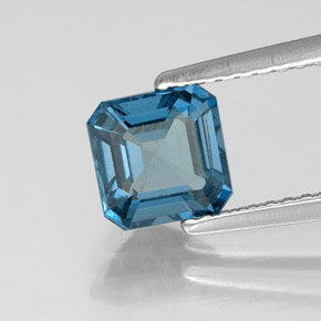 Buy 1.31 ct London Blue Topaz 6.24 mm x 6.2 mm from GemSelect (Product ID: 323569)