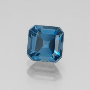 Buy 1.30 ct London Blue Topaz 5.96 mm x 6 mm from GemSelect (Product ID: 323570)
