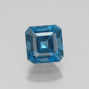 Buy 1.58 ct London Blue Topaz 6.28 mm x 6.2 mm from GemSelect (Product ID: 323572)