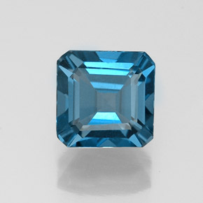 Buy 1.30ct London Blue Topaz 6.06mm x 5.99mm from GemSelect (Product ID: 323597)