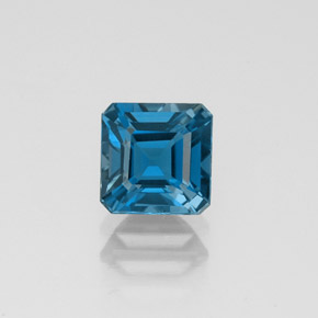 Buy 1.44 ct London Blue Topaz 6.08 mm x 6.1 mm from GemSelect (Product ID: 323605)