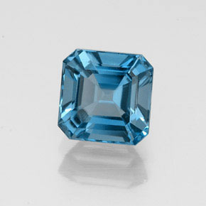 Buy 1.47 ct London Blue Topaz 6.13 mm x 6.1 mm from GemSelect (Product ID: 323606)