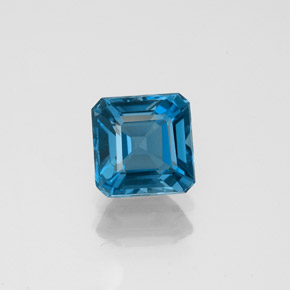Buy 1.37ct London Blue Topaz 6.02mm x 5.95mm from GemSelect (Product ID: 323607)